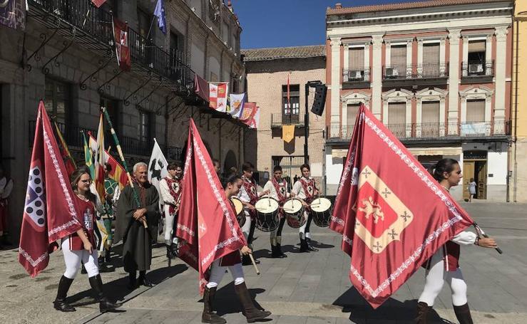 Jornada del jueves en la Feria Renacentista Imperiales y Comuneros de Medina del Campo