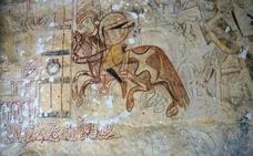 la escena de tauromaquia más antigua de Segovia