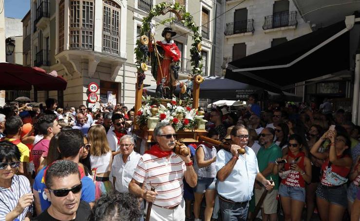 Procesión de San Roque en Peñafiel