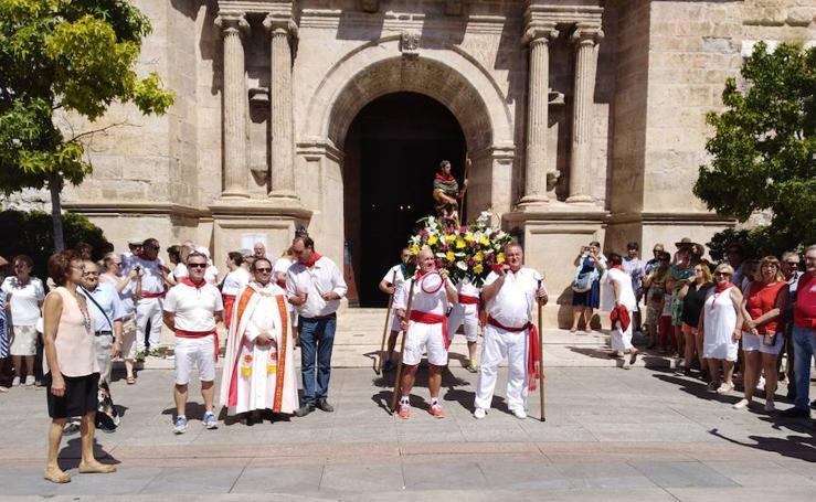 Procesión de San Roque en Tudela de Duero