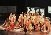 Arranca el Encuentro de Artistas de Calle en Aguilar