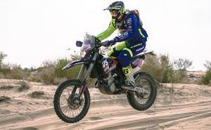 Lorenzo Santolino disputa la Baja India, un buen test en su preparación para el Dakar