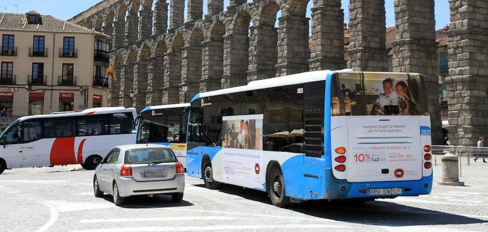 El comité de Urbanos de Segovia sostiene que hay autobuses con importantes deficiencias