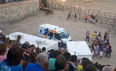 Un joven de Coca resulta herido en el toro de San Roque