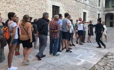 Decenas de figurantes ensayan la recreación de la boda de Pedro I en Cuéllar