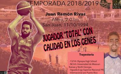 La Antigua CB Tormes ficha al puertorriqueño Juan Ramón Rivas para reforzar el exterior
