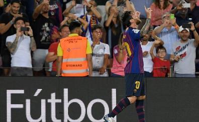 Leo Messi consigue hacer el gol 6.000 del Barça