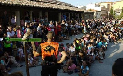 Se respira fiesta en Carbajosa, Vilvestre y Cantalpino
