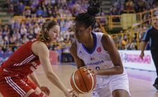 La jugadora de Avenida Elonu debuta en la WNBA y se queda hasta el final de la temporada