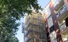 La Rubia se suma a los ascensores separados de la fachada tras el aval del TSJ
