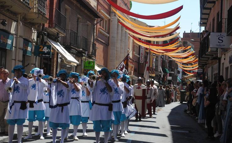 Último día de la Feria Renacentista 'Imperiales y Comuneros' de Medina del Campo
