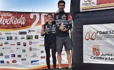 Verónica Sánchez y Dani Sanz, campeones de la Copa de Castilla y León de Km vertical