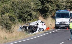 Un fallecido en una colisión entre un turismo y un camión en Carrascal de Barregas
