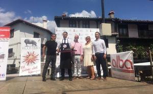 Alejandro Martín gana el III concurso nacional solidario de cortadores de jamón