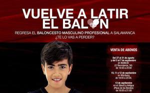 La Antigua CB Tormes apela al corazón para su campaña de abonos en su estreno en LEB Plata