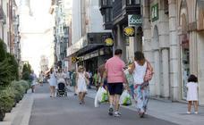 La calle Regalado, a pleno rendimiento