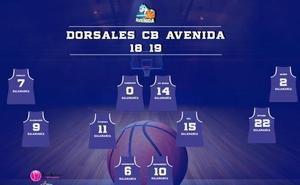 Avenida da a conocer los dorsales de las jugadoras para la temporada 2018-2019