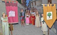 Sacramenia celebra su viaje al Medievo