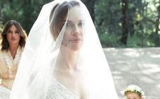 Hilary Swank se casa en un bosque de California