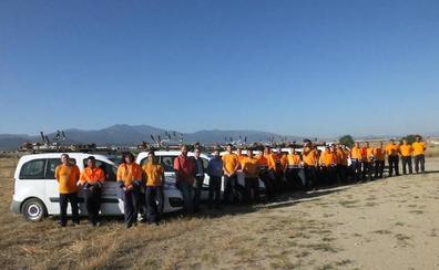 Las cuadrillas provinciales limpian 56 hectáreas en 48 pueblos de Segovia