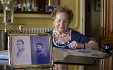Mercedes, la vallisoletana que busca a su padre en el Valle de los Caídos