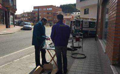 La fibra óptica llega ya al 60% de los hogares de Palencia