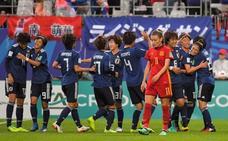 Japón rompe otra vez el sueño de España