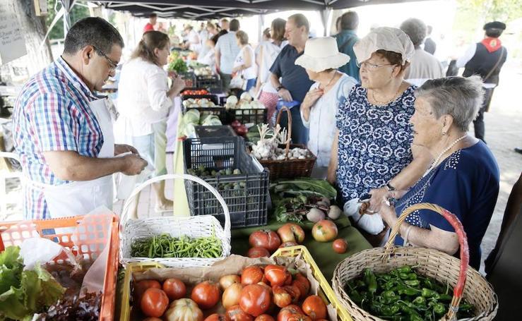 Feria del tomate en Tudela de Duero
