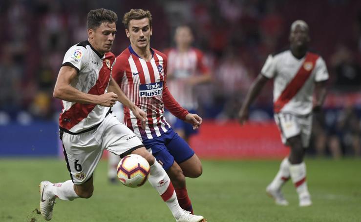 Atlético-Rayo, en imágenes