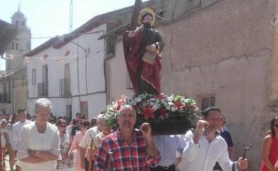 Ciguñuela procesiona a San Ginés