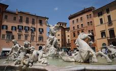 Una familia española, multada con 450 euros al bañarse uno de sus hijos en una fuente de Roma
