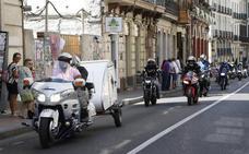 Las motos invaden Palencia con su toque más festivo