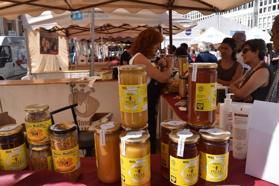 Las ferias de Alimentos de Palencia por la provincia se despiden en Aguilar
