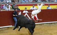 Un salto lleno de riesgo hace ganar a 'Use' por tercer año consecutivo en Palencia