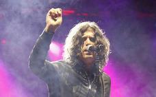 Llenazo de Rulo y la Contrabanda en el primer concierto de las fiestas de Palencia