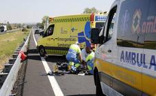 Fallece un motorista en un accidente a la altura de Cubillas de Santa Marta