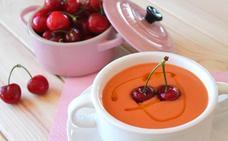 ¿Te apetece un gazpacho de cerezas?