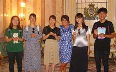 Cinco estudiantes japoneses aprenderán español y la cultura segoviana