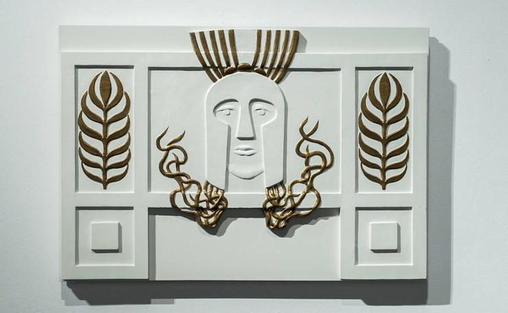Exposición 'Modernismo' en la iglesia de Las Francesas