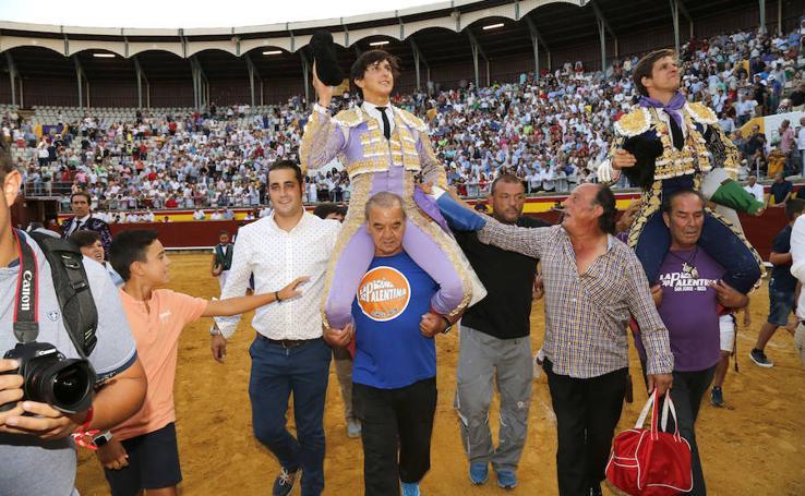Triunfo de El Juli y Roca Rey en Palencia