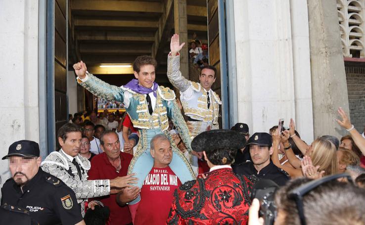 Ponce y Gines Marin abren la puerta grande de Palencia