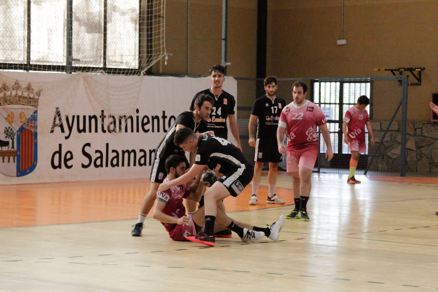 BM Salmanaca vence en su primer partido amistoso