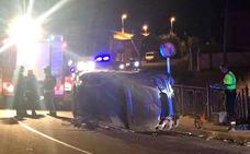 Una mujer fallecida y dos personas heridas en un accidente de tráfico en la localidad de Villasinta
