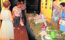 Baltanás revive su pasado gracias a fotos y maquetas en el Museo del Cerrato