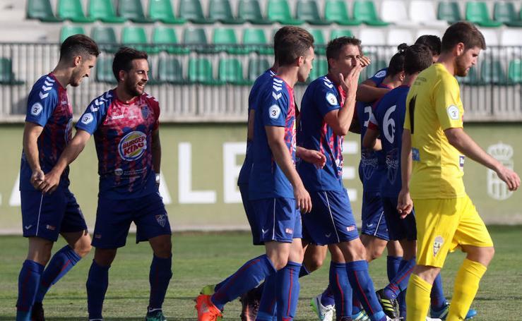 Victoria de la Gimnástica Segoviana ante La Bañeza 3-0