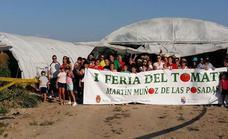 La 'tomatina' de Martín Muñoz de las Posadas
