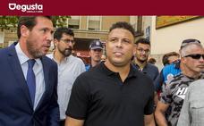 El primer lechazo de Ronaldo