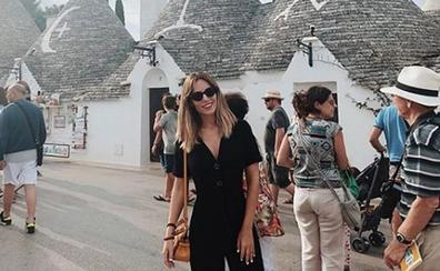 Edurne, vacaciones en solitario en Santorini