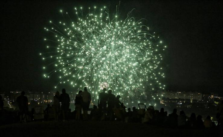 Los fuegos artificiales regresan a Valladolid