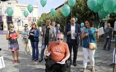 ASPAYM suelta globos por el Día Internacional de la Lesión Medular